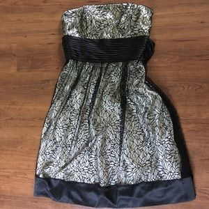 Morell Maxie Strapless Lace Dress, Sz 6